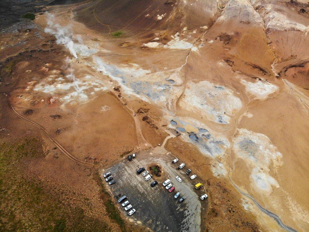 Geothermal spot Hverir-Island - Istražite Arktičku obalu-2
